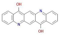 Pigment-violet-19-Cấu trúc phân tử